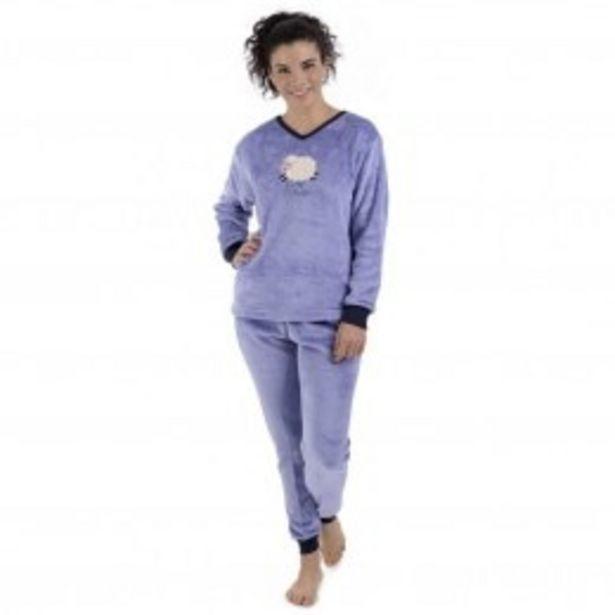 Oferta de Pijama Flannel Con Estampado Funny Sheep Sugar & Milk por $339