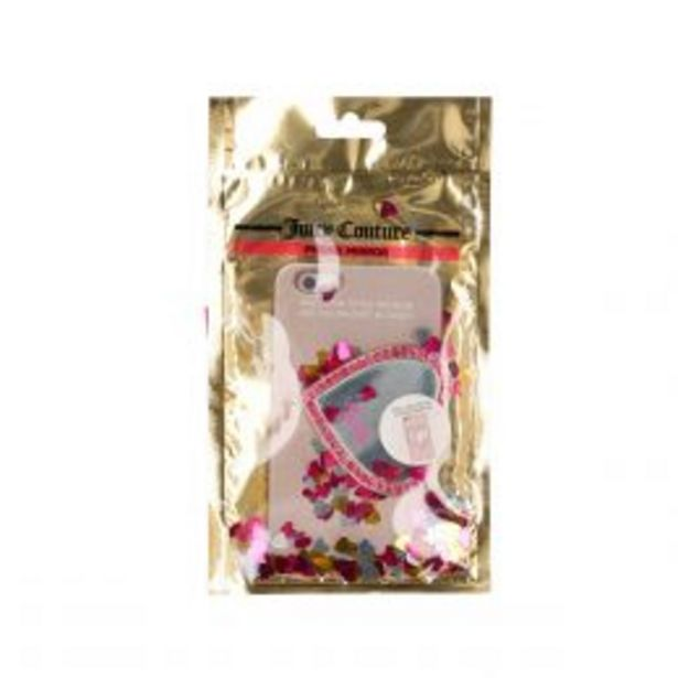 Oferta de Sticker Plateado Para Celular Juicy Couture por $69