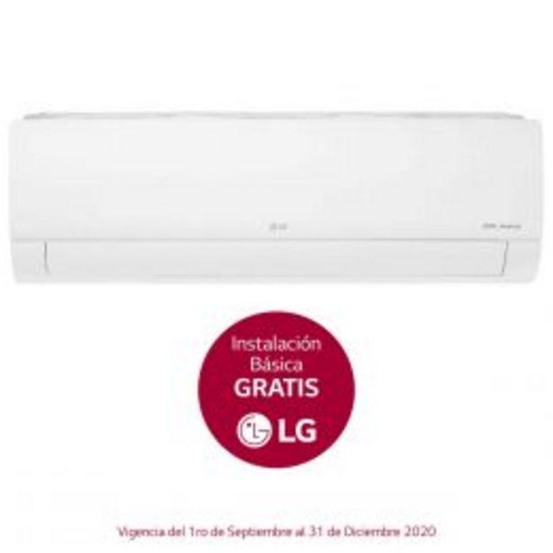 Oferta de Mini Split Dual Inverter 12K Btu F/c 220V Lg por $13871
