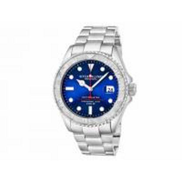 Oferta de Reloj Stã¼Hrling Modelo Depthmaster-Caballero, Automático, 42 Mm por $7049