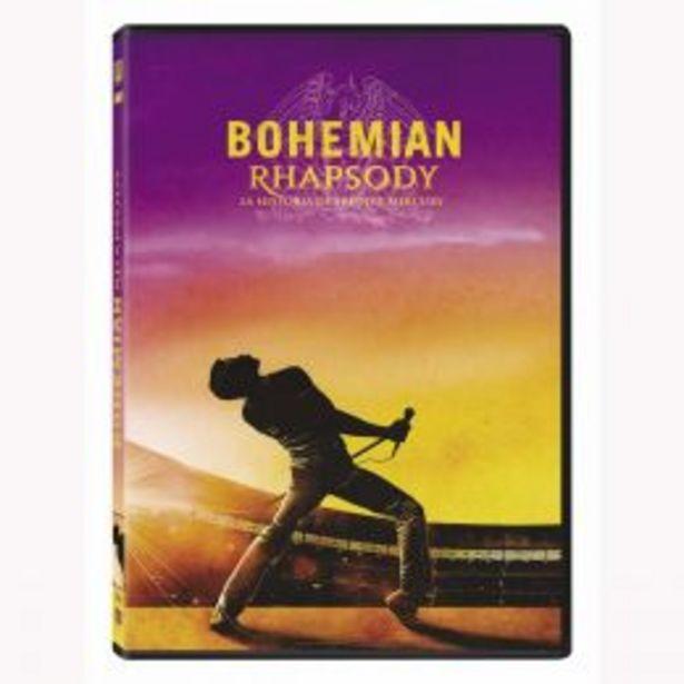 Oferta de Dvd Bohemian Rhapsody: La Historia De Freddie Mercury por $131