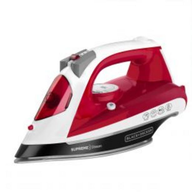 Oferta de Plancha Supreme Steam Ir23970 Black And Decker por $479