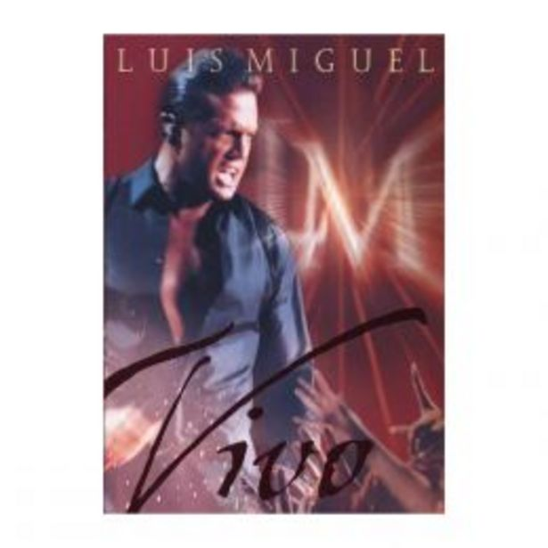 Oferta de Dvd Luis Miguel Vivo por $79