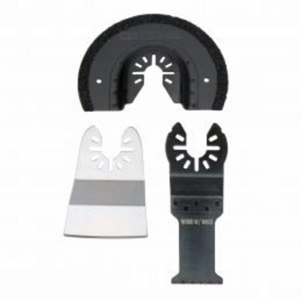 Oferta de 3 Cuchillas De Herramienta Oscilatoria Para Corte, Desbaste Y Raspado Craftsman por $309