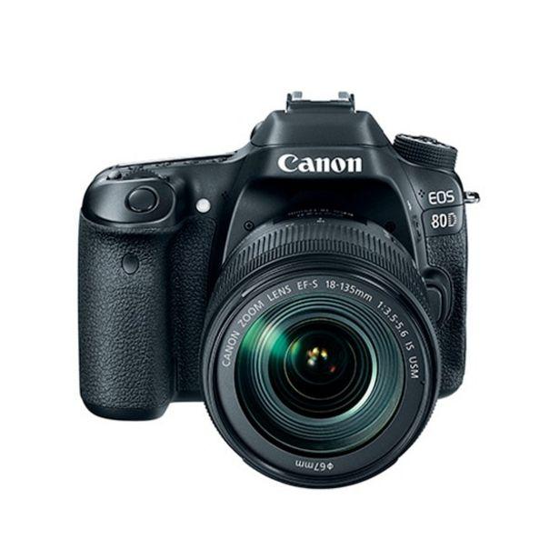 Oferta de Canon Eos 80D (Ef-S 18-135Mm) (Reacondicionado) por $24999