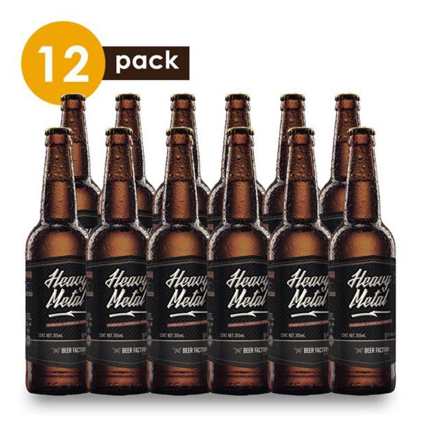 Oferta de Cerveza Artesanal Beer Factory Heavy Metal Beerpack 12 por $1259