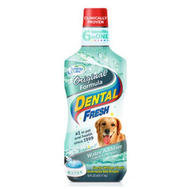 Oferta de Dental Fresh Enjuague Bucal para Perro y Gato, 502 ml por $119.5