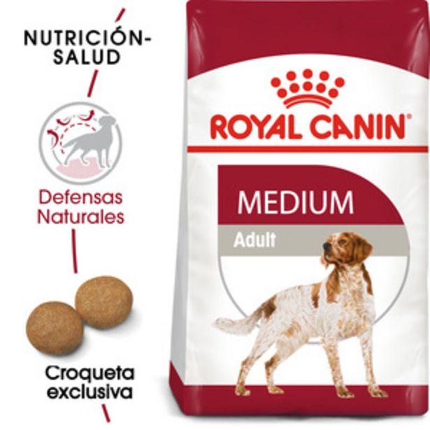 Oferta de Royal Canin Alimento Seco para Perro Adulto Raza Mediana Receta Pollo, 13.6 kg por $1466.15