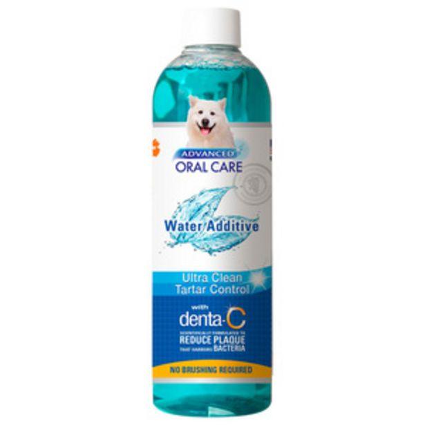 Oferta de Nylabone Cuidado Oral Avanzado Enjuague Removedor de Placa para Perro, 473 ml por $99.5