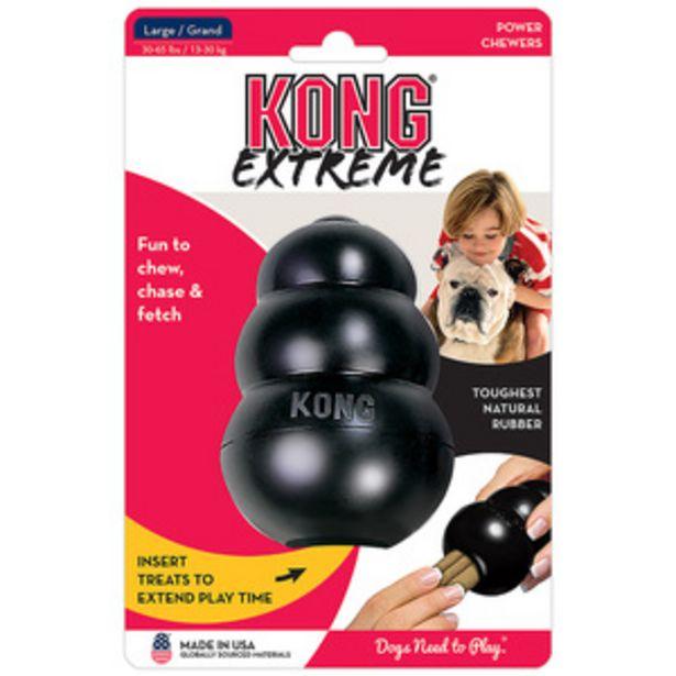 Oferta de KONG Panal de Caucho Extreme Negro para Perro por $247.2