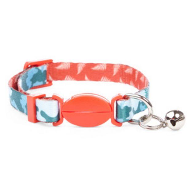 Oferta de Youly Collar Camo Azul para Gato, Única por $50