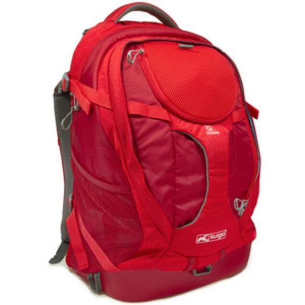 Oferta de Kurgo Transportadora Tipo Mochila K9 Roja para Perro por $1609.3