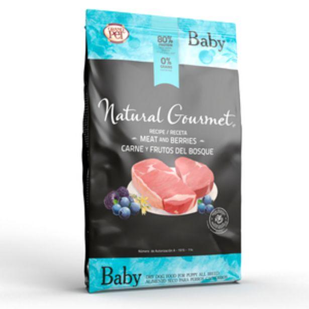 Oferta de Natural Gourmet Alimento Natural sin Granos para Cachorro Todas las Razas Receta Carne y Frutos del Bosque, 15 kg por $1540