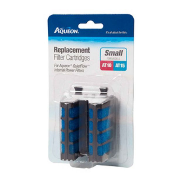 Oferta de Aqueon Repuestos Filtro para Aqueon QuietFlow AT10 & AT15 por $62.5
