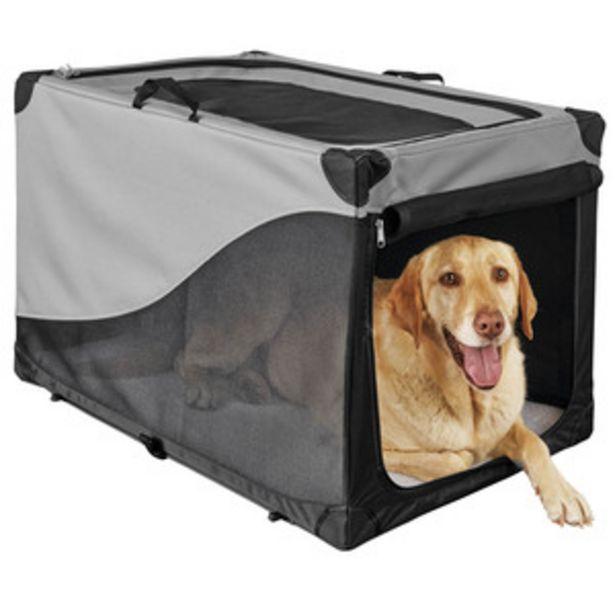 Oferta de You & Me Transportadora Desarmable de Tela Gris para Perro, Grande por $1813
