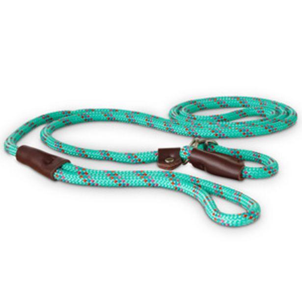 Oferta de Good2Go Correa para Adiestramiento de Cuerda Deslizante Color Aqua por $269.5