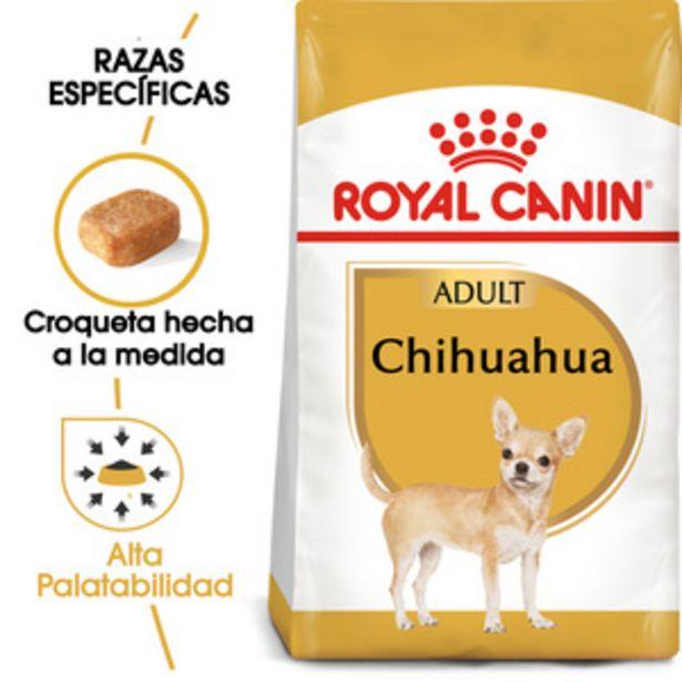 Oferta de Royal Canin Alimento Seco para perro Adulto Raza Chihuahua Receta Pollo, 4.5 kg por $814