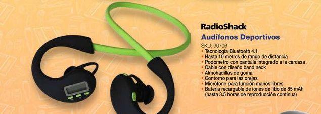 Oferta de Audifonos bluetooth Radioshack por