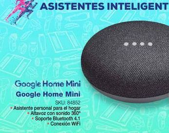 Oferta de Bocinas bluetooth Google Home por