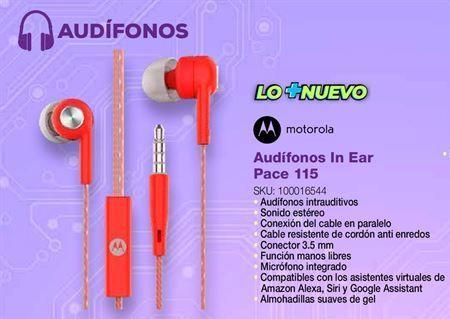 Oferta de Audífonos Motorola por