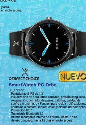 Oferta de Reloj inteligente Perfect Choice por