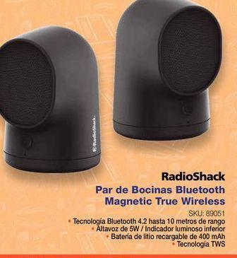 Oferta de Bocinas bluetooth Radioshack por
