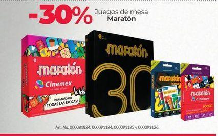 Oferta de -30% Juegos de mesa Maratón por