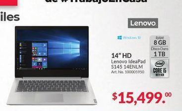 """Oferta de Laptop Lenovo 14"""" HD por $15499"""