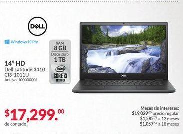 Oferta de Laptop Dell por $17299