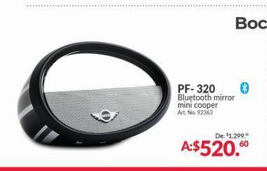 Oferta de Bocinas bluetooth Mini Cooper por $520.6