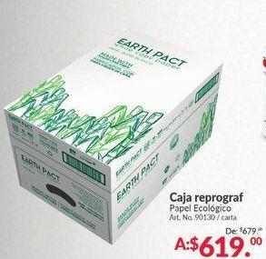 Oferta de Caja Reprograf por $619