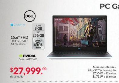 Oferta de Laptop Dell por $27999