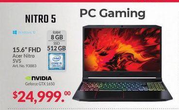 Oferta de Laptop Nitro 5 por $24999