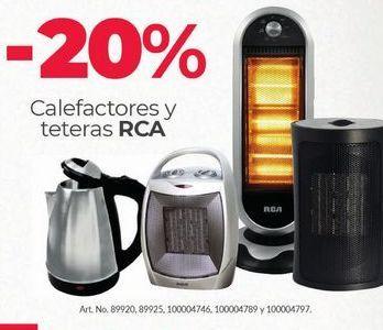 Oferta de -20% Calefactor RCA por