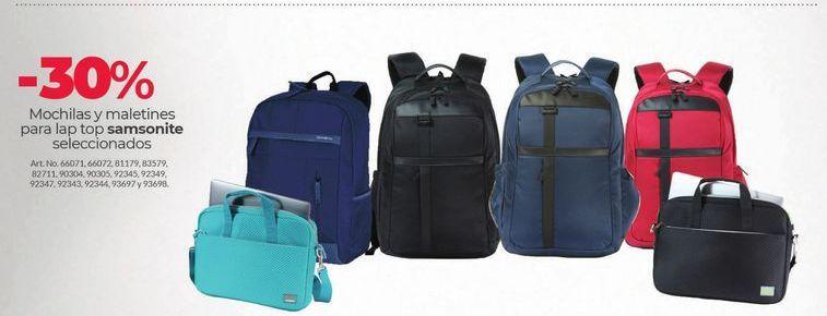 Oferta de Mochilas y maletines por
