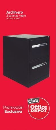 Oferta de Archiveros Office Depot por