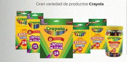 Oferta de Lápices de colores Crayola por
