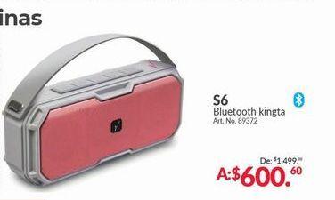 Oferta de Bocinas bluetooth Kingta S6 por $600.6