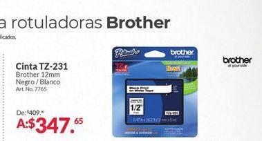 Oferta de Consumibles Brother por $347.65