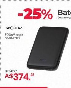 Oferta de - 25% bateria externa para tablet Spectra por $374.25