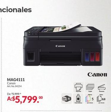 Oferta de Impresora Canon por $5799