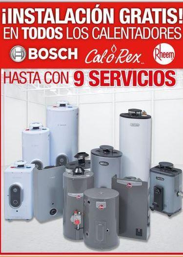 Oferta de Calentador de  agua Bosch por