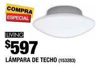 Oferta de Lámpara de techo por $597