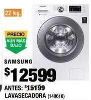 Oferta de Lavadora secadora Samsung por $12599
