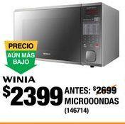 Oferta de Horno de microondas Winia por $2399