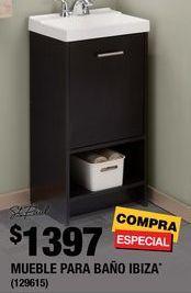Oferta de Muebles para baño por $1397