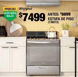 Oferta de Estufa De Piso Whirlpool por $7499