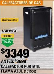 Oferta de Calefactor Portatil Lenomex por $3349