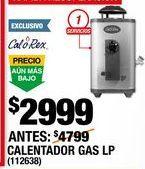 Oferta de Calentador de  agua Calorex por $2999