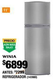 Oferta de Refrigeradores Winia por $6899